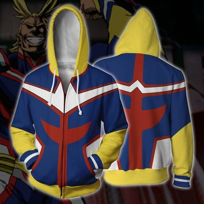 3D Gedruckt Meine hero wissenschaft Zipper Hoodie Männer Frauen keine hero wissenschaft Alle Könnte Cosplay Kostüm Sweatshirt Schuluniform Jacken 5