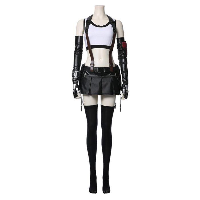 Final Fantasy VII Remake Tifa Lockhart Cosplay Kostüm Erwachsene Frauen Mädchen Halloween Karneval Kostüme 3