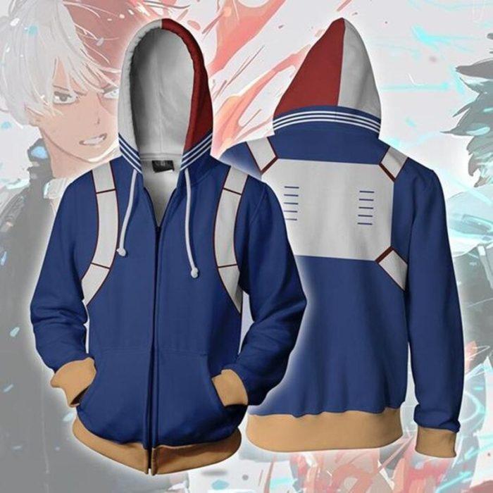 3D Gedruckt Meine hero wissenschaft Zipper Hoodie Männer Frauen keine hero wissenschaft Alle Könnte Cosplay Kostüm Sweatshirt Schuluniform Jacken 4