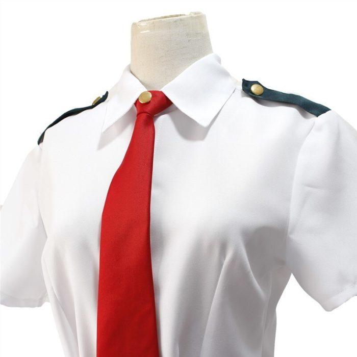 Mein Hero Wissenschaft Midoriya Izuku Cosplay Kostüm Boku Keine Hero Wissenschaft OCHACO URARAKA AsuiTsuyu Sommer Schuluniform 3