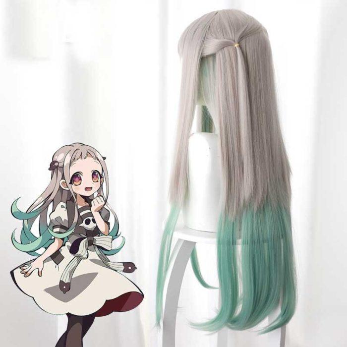 2020 Anime Hanako-kun Cosplay Kostüme Uniform Kleid Wc-Gebunden Jibaku Shounen Yashiro Nene Perücke Hanako Kun Kleid uniform Anzug 5