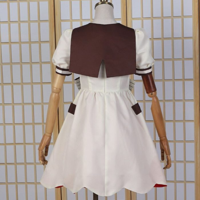 DIOCOS Anime Jibaku Shounen Hanako kun Nene Yashiro Cosplay Kostüm Perücke Frauen Kleid für Halloween-Party 5