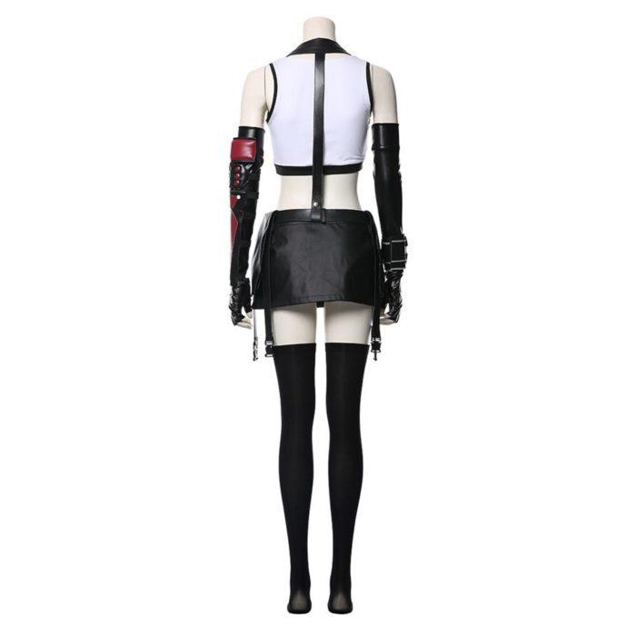 Final Fantasy VII Remake Tifa Lockhart Cosplay Kostüm Erwachsene Frauen Mädchen Halloween Karneval Kostüme 2