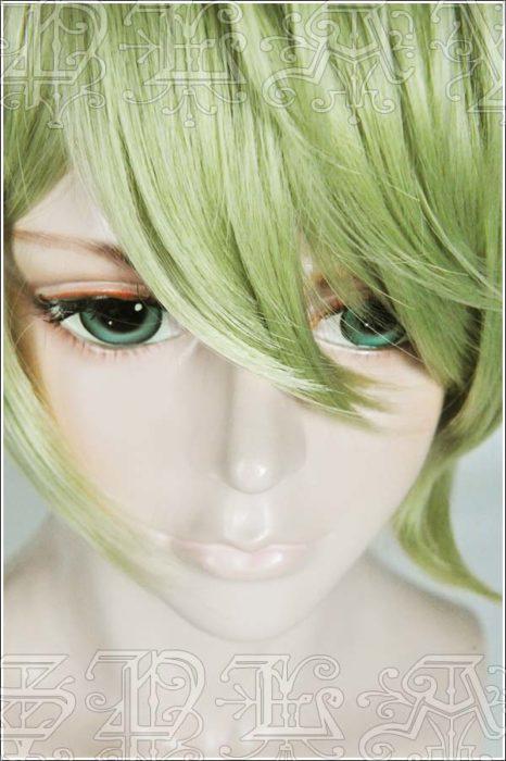 Japan Spiel Neue Dangan Ronpa V3 perücke Rantaro Amami grün styled haar perücke V3 cosplay Perücke 4
