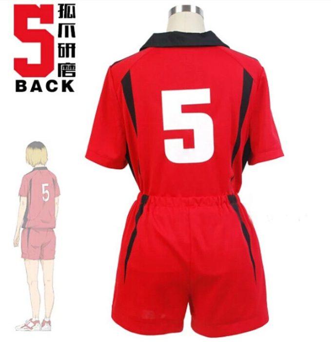Haikyuu!! Nekoma Hohe Schule #5 1 Kenma Kozume Kuroo Tetsuro Cosplay Kostüm Haikiyu Volley Ball Team Jersey Sportswear Uniform 5