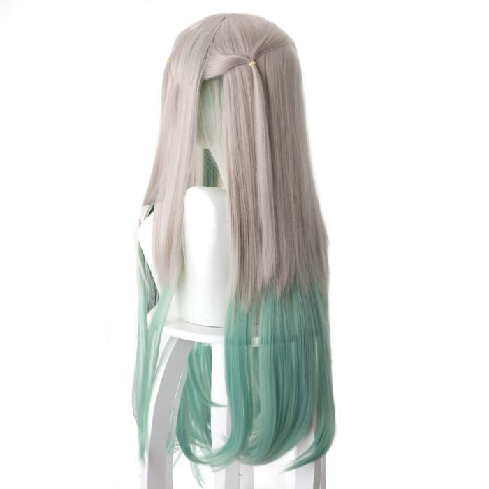80cm Anime Jibaku Shounen Hanako kun Cosplay Perücken Nene Yashiro Lange Wärme Beständig Synthetische Haar Party Perücken 5