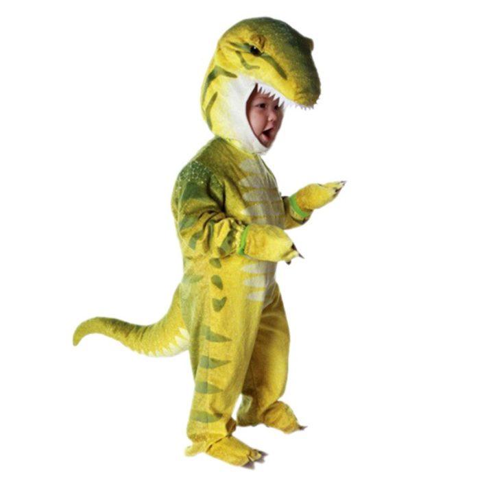 Neue Triceratops Kostüm Jungen Kinder Kleine T-Rex Kostüm Cosplay Dinosaurier Overall Halloween Cosplay Weihnachten kostüme für kinder 3