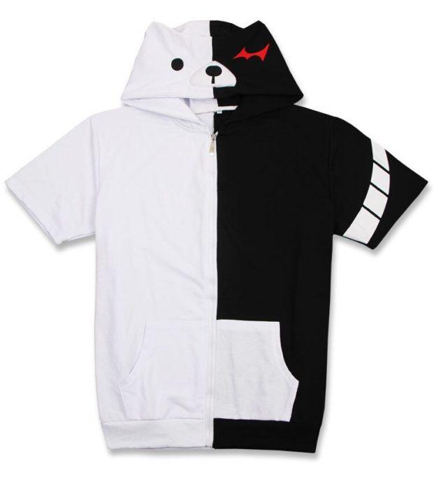 Danganronpa Monokuma Cosplay Kostüm Unisex Hoodie Sweatshirt T-shirt Mit Kapuze Jacke Täglich Casual Mantel Spiel Anime Peripheren 23