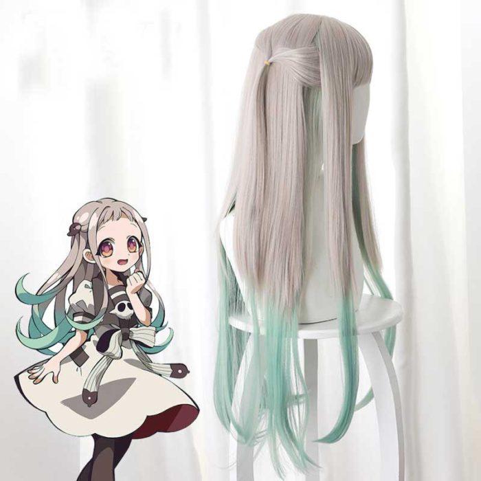 2020 Anime Hanako-kun Cosplay Kostüme Uniform Kleid Wc-Gebunden Jibaku Shounen Yashiro Nene Perücke Hanako Kun Kleid uniform Anzug 6