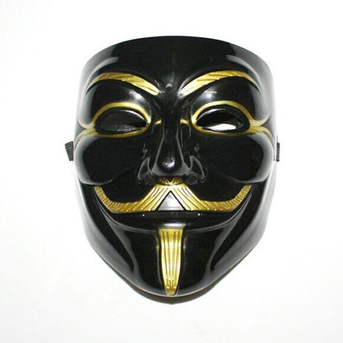V Wie Vendetta Maske Guy Fawkes anonymous-maske Halloween Kostüm Cosplay Venezianischen Karneval Maske Weihnachten Geschenke für Männer 2