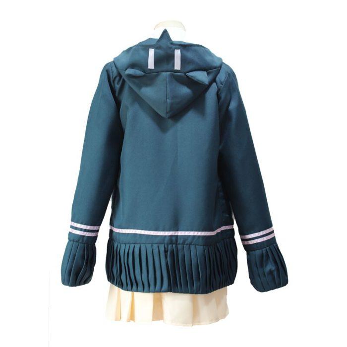 Super DanganRonpa 2 Dangan Ronpa Cosplay Chiaki Nanami Uniformen Jacke Hemd Krawatte Rock Für Frauen Cosplay Kostüm Perücken 2