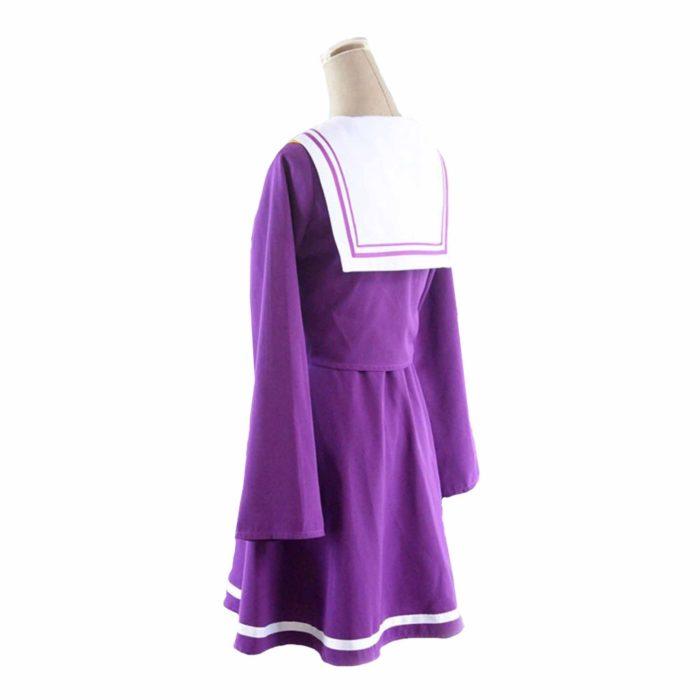Kein spiel kein leben cosplay Shiro kostüm halloween frauen kleidung carival kleid perücken sailor anzug Japanische schuluniform 2
