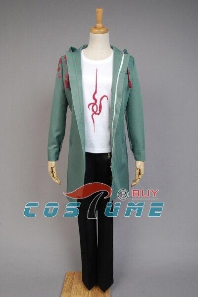 Anime Super Dangan Ronpa 2 DanganRonpa Nagito Komaeda Jacke Mantel Cosplay Kostüm Halloween Für Frauen Männer 2