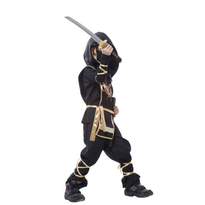 Kinder Drachen Ninja Cosplay Kostüme Karneval Party Jungen Mädchen Krieger Stealth Samurai Assassins Phantasie Kostüme 5