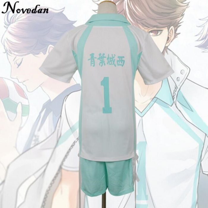 Haikyuu Kageyama Tobio Aoba Johsai Koushi Sugawara Oikawa Tooru Cosplay Kostüm Uniform Jersey 4