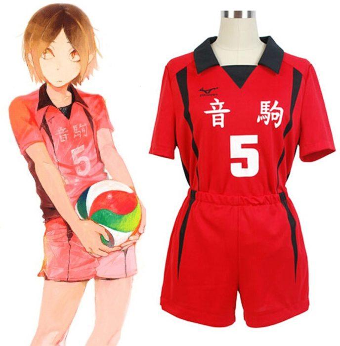 Haikyuu!! Nekoma Hohe Schule #5 1 Kenma Kozume Kuroo Tetsuro Cosplay Kostüm Haikiyu Volley Ball Team Jersey Sportswear Uniform 1
