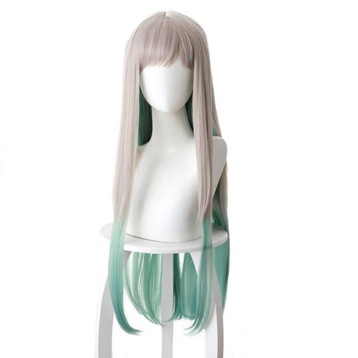 80cm Anime Jibaku Shounen Hanako kun Cosplay Perücken Nene Yashiro Lange Wärme Beständig Synthetische Haar Party Perücken 2