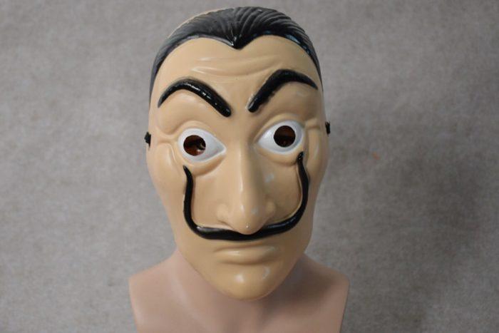 Komödie Master La Casa De Papel Dali Maske Halloween Masquerade Cosplay Lustige Zubehör 3