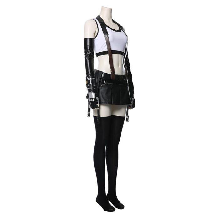 Final Fantasy VII Remake Tifa Lockhart Cosplay Kostüm Erwachsene Frauen Mädchen Halloween Karneval Kostüme 4