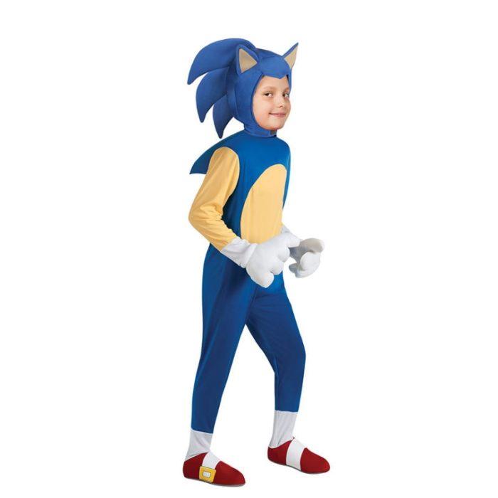 Deluxe Sonic The Hedgehog Kostüm Kinder Spiel Charakter Cosplay Halloween Kostüm Für Kinder 1