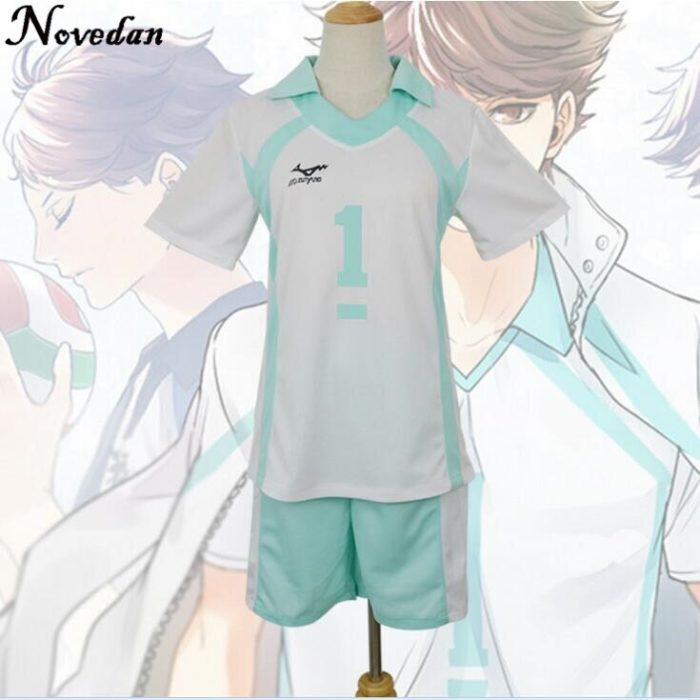 Haikyuu Kageyama Tobio Aoba Johsai Koushi Sugawara Oikawa Tooru Cosplay Kostüm Uniform Jersey 3