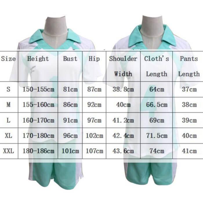 9 stile Haikyuu Cosplay Kostüm Karasuno Gymnasium Volleyball Club Hinata Shyouyou Sportswear Trikots Uniform 5