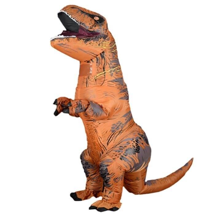 Maskottchen Aufblasbare T REX Anime Cosplay Dinosaurier Für Erwachsene Männer Frauen Kinder Dino Cartoon Halloween Kostüm 1