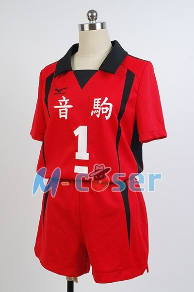 Anime Haikyuu Nekoma Hohe Schuluniform Kuroo Tetsurou/kozumekenma Jersey Cosplay Kostüm Sport Volle set 4