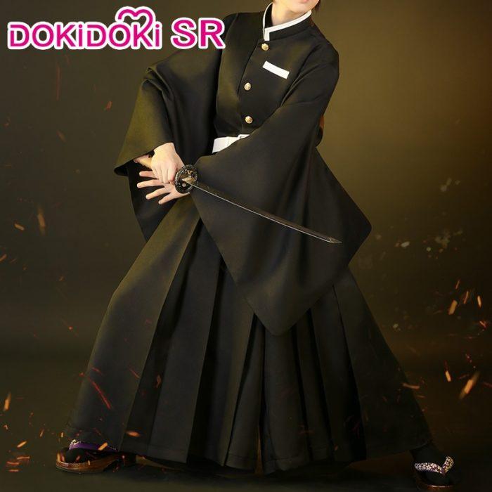 DokiDoki-SR Anime Cosplay Dämon Slayer: kimetsu keine Yaiba Cosplay Kostüm Tokitou Muichirou Cosplay Kimetsu keine Yaiba Kostüm Männer 1