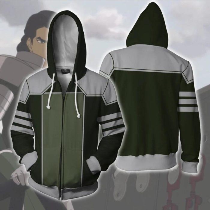 AVATAR Last Airbender-fall APPA Cosplay Hoodie Zipper Up Mit Kapuze Casual Hoodie Anime AVATAR Kostüm Dünne Jacke 4