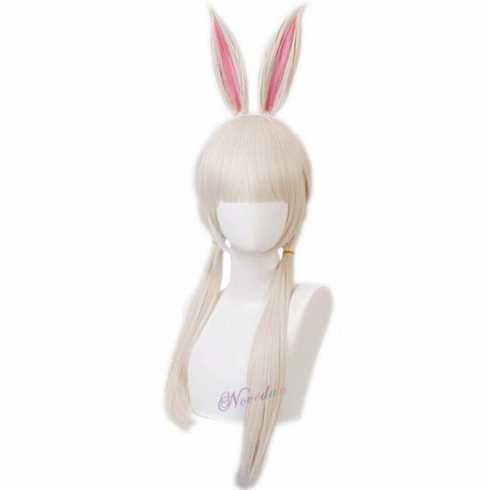 Anime Beastars Haru Cosplay Kostüm Uniform Weiß Kaninchen Tier Nette Kawaii Kleid Und Perücke Für Frauen Mädchen 6