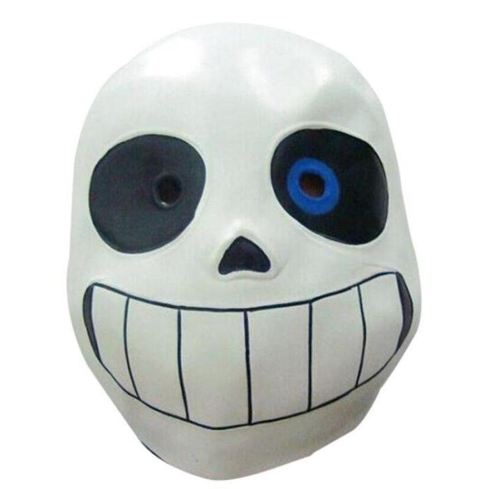 Sans Undertale Cosplay Hoodies Latex Maske FRISCHE SKELETON jacke sans plus samt mit kapuze zipper pullover animation spiel outfit 6