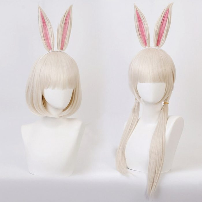 Anime BEASTARS Haru Perücke Kaninchen Cosplay Kostüm Synthetische Haar Party Cosplay Perücken 1