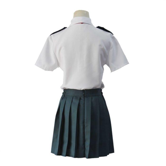 Mein Hero Wissenschaft Midoriya Izuku Cosplay Kostüm Boku Keine Hero Wissenschaft OCHACO URARAKA AsuiTsuyu Sommer Schuluniform 5