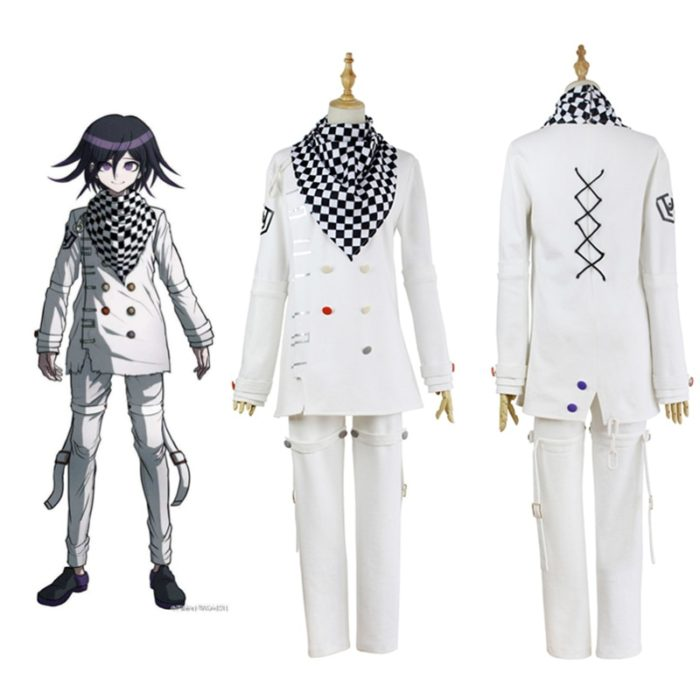 Anime Danganronpa V3 Ouma kokichi Cosplay Kostüm Japanischen Spiel Schuluniform Anzug Outfit 1