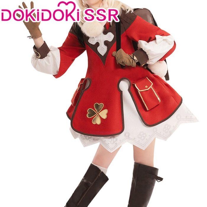 PRE-SALE DokiDoki-SSR Spiel Genshin Auswirkungen Cosplay Halloween Klee Genshin Auswirkungen Klee Cosplay 3