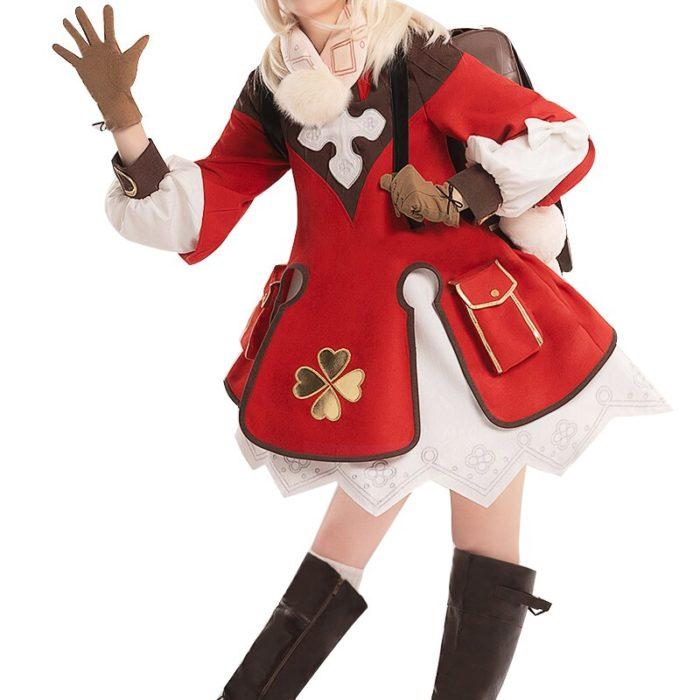 PRE-SALE DokiDoki-SSR Spiel Genshin Auswirkungen Cosplay Halloween Klee Genshin Auswirkungen Klee Cosplay 5