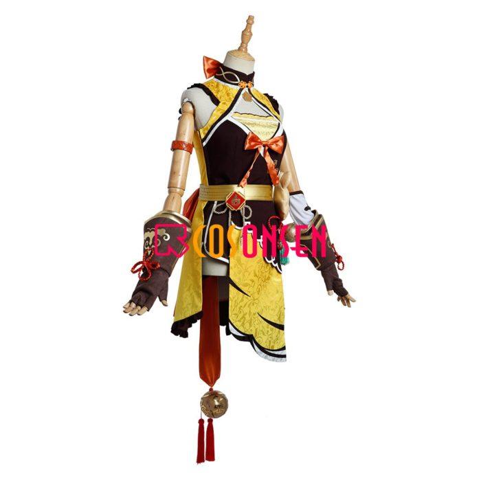 Genshin Auswirkungen Xiangling Cosplay Kostüm Kopf Chef Outfit COSPLAYONSEN Nach Maß 3