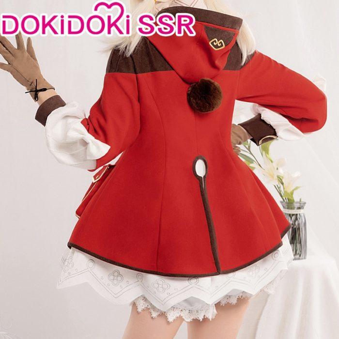 PRE-SALE DokiDoki-SSR Spiel Genshin Auswirkungen Cosplay Halloween Klee Genshin Auswirkungen Klee Cosplay 2