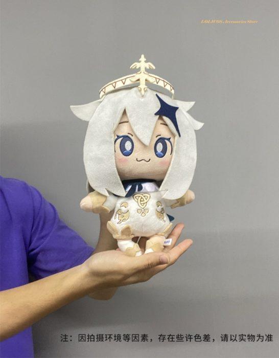 2020 neue Spiel Genshin Auswirkungen Paimon Thema Nette Weiche Plüsch Puppe Stofftier Kissen Requisiten Cosplay Anime Weihnachten Geburtstag Geschenk 30cm 6