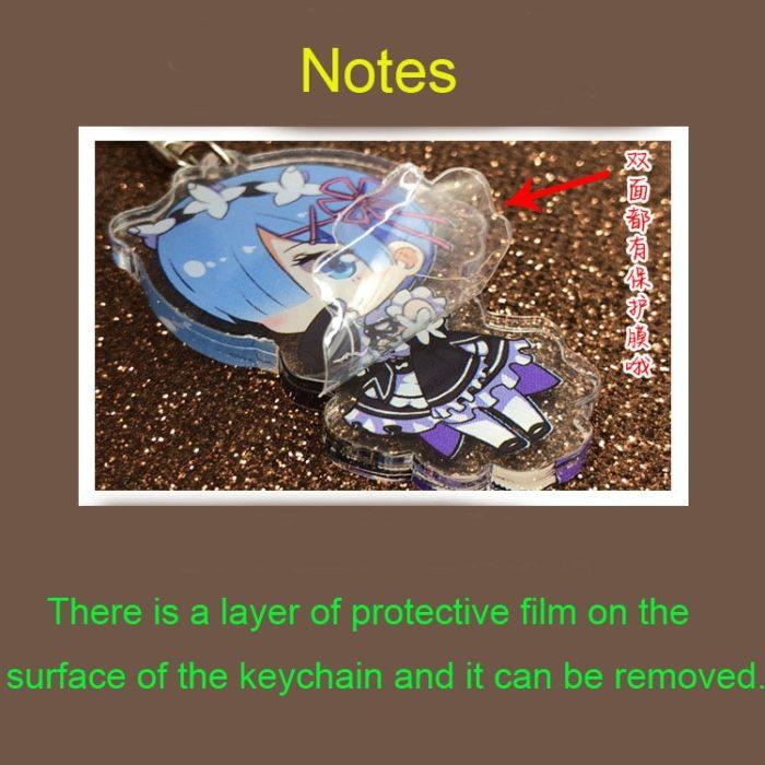 2020 Anime Genshin Auswirkungen Bernstein Klee Paimon Keychain Rasiermesser Acryl Stand Modell Platte Schlüsselring Cosplay Tasche Anhänger Spielzeug Geschenk 6