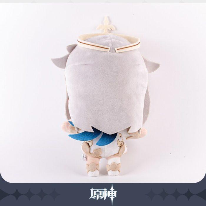 2020 neue Spiel Genshin Auswirkungen Paimon Thema Nette Weiche Plüsch Puppe Stofftier Kissen Requisiten Cosplay Anime Weihnachten Geburtstag Geschenk 30cm 4