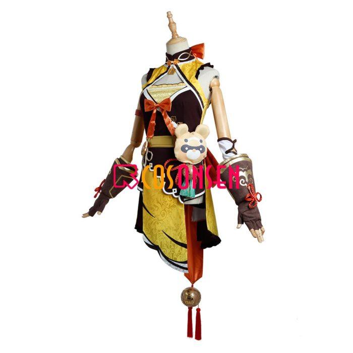 Genshin Auswirkungen Xiangling Cosplay Kostüm Kopf Chef Outfit COSPLAYONSEN Nach Maß 4